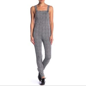 NWOT Emory Park Plaid Overall